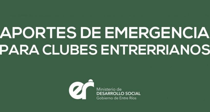 La provincia brindará ayuda económica de emergencia para clubes de barrio
