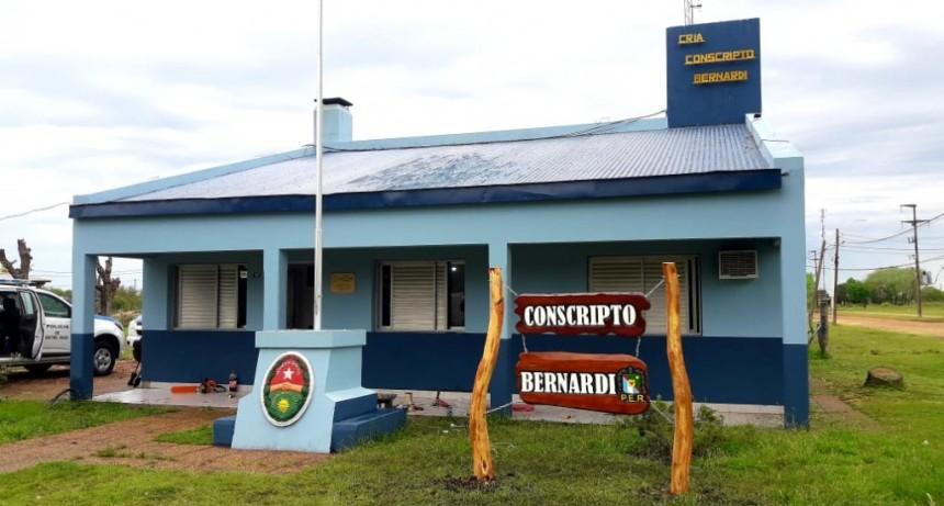 Tras un caso positivo de funcionario policial en C. Bernardi ,  la Comisaria funciona en el C.I.C.