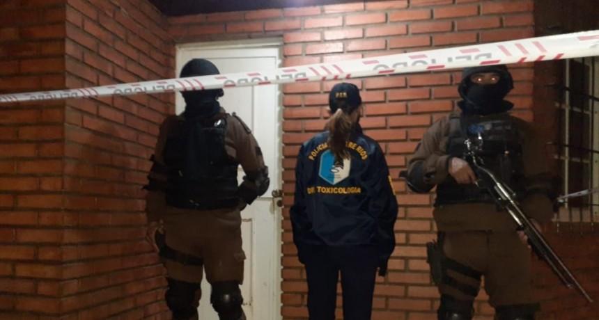 Procedimientos de la Jefatura Villaguay en los cuales tuvo participación la División Toxicología y Grupo Especial de Federal
