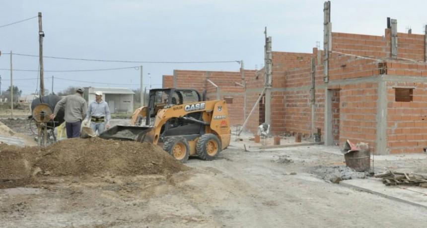La ejecución de nuevas viviendas progresa en tres localidades entrerrianas
