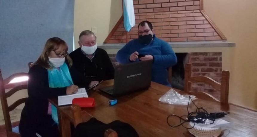 Delinearon proyectos prioritarios para comunas de Federal a través de Cafesg