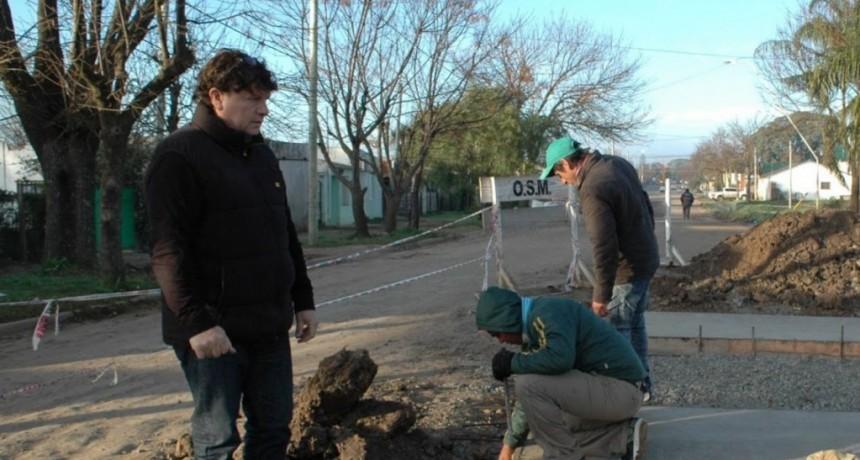 Jose Luis Bustamante: obras y servicios de Municipalidad Federal