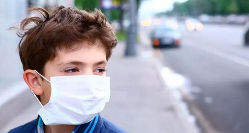 Coronavirus: la OMS recomendó uso de tapabocas en niños a partir de los 12 años