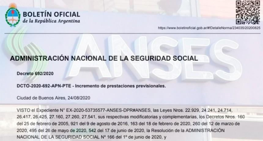 Oficializaron la suba de jubilaciones y asignaciones: Los nuevos montos
