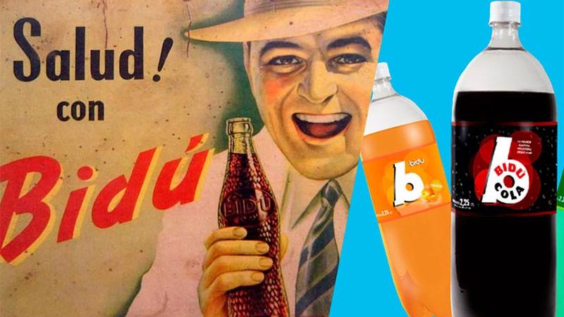 Bidú Cola, la gaseosa que se animó a ir contra Coca Cola, vuelve 50 años después