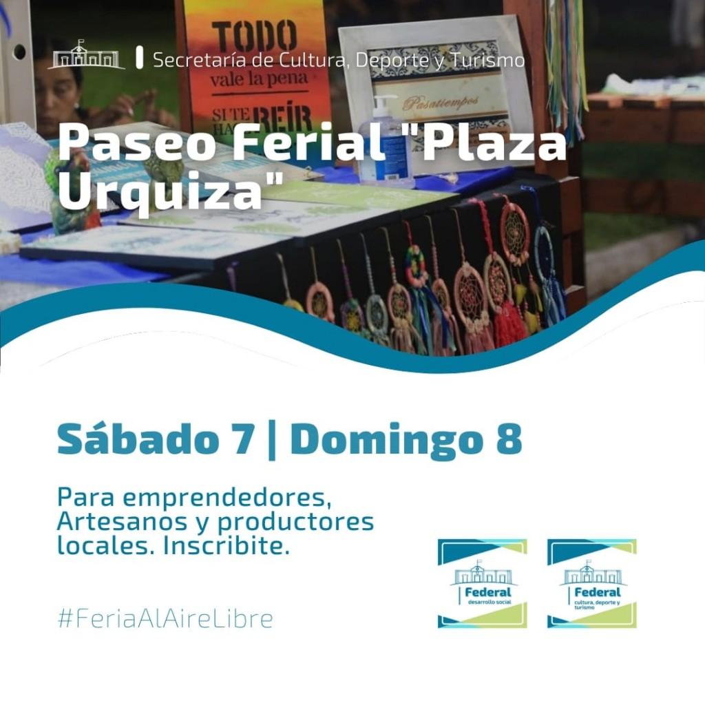 Paseo Ferial Plaza Urquiza