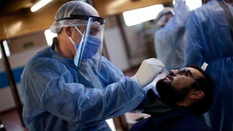 Reportaron 14.850 contagios en el país y 405 muertes en las últimas 24 horas