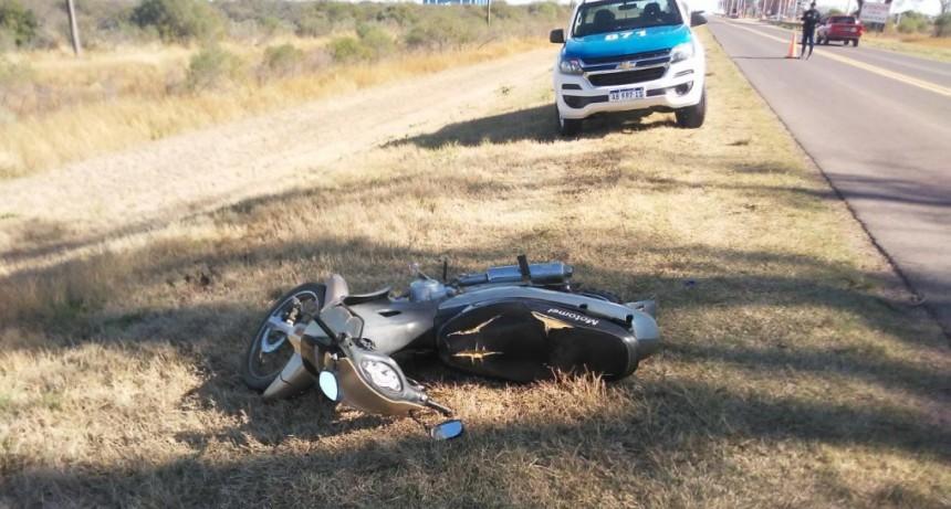 Accidente de transito con lesionados