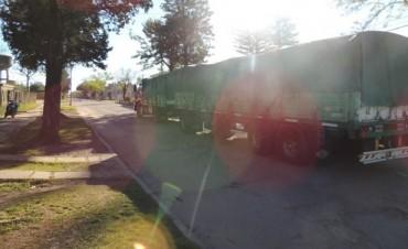 El Transito pesado sigue circulando por calles donde está prohibido