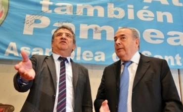 Urribarri acordó con su par de La Pampa cooperación en materia de telecomunicaciones