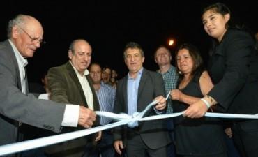 Urribarri  junto a Daniel Rossi inauguraron obras de la Nueva Costanera en Santa Elena