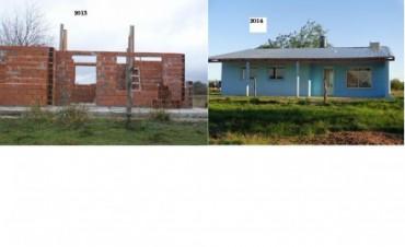 Demoras en la terminación de Viviendas rurales en el departamento Federal
