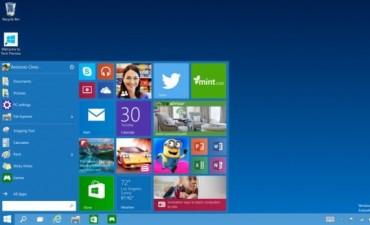 Fue presentado por Microsoft el Windows 10