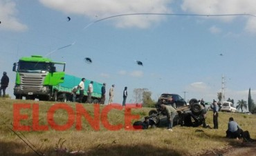 Accidente de características graves en el Acceso norte en Paraná