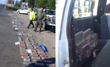 700 kg de droga secuestro la  Policía  en La Paz