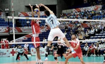 Argentina consiguió su cuarto triunfo en la Copa del Mundo de voleibol