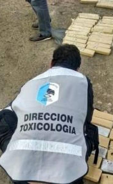 Otro secuestro de Drogas  y fuga de los narcos en La Paz