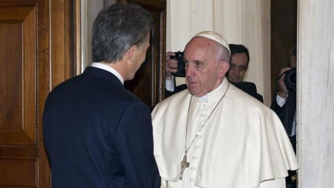 Confirmado: el papa Francisco recibirá en audiencia a Macri el 15 de octubre