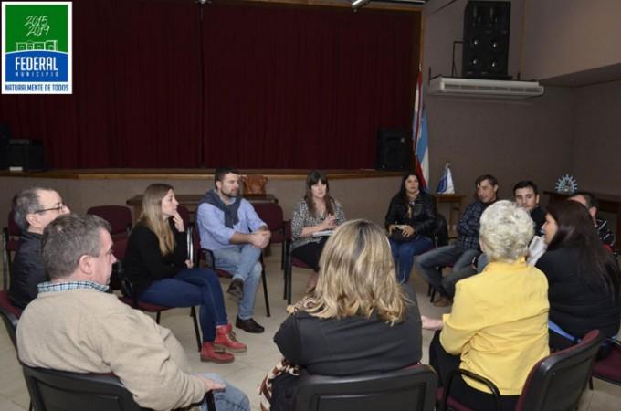 Reunión del Festival Nacional del Chamame