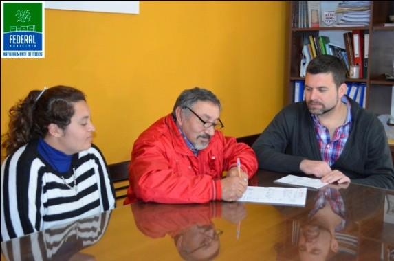 El Club Atlético Itati recibió aporte Municipal