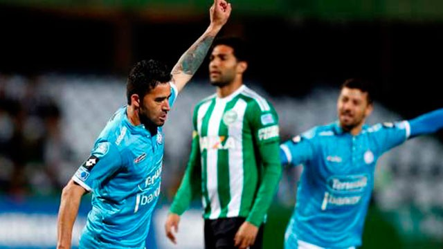 Belgrano venció a Coritiba en su primer partido internacional