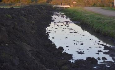 Avances en los trabajos de dragado y limpieza en Cañada de los Tigres