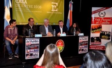Se presentó en Buenos Aires la 2da edición de la Fiesta del Cuchillero de Federal