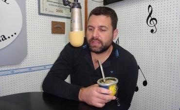 El Intendente de Federal Gerardo Chapino retomo sus funciones al frente del Ejecutivo
