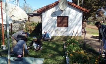 En C.Bernardi comienza la construcción del edificio donde funcionara el Cajero Automático
