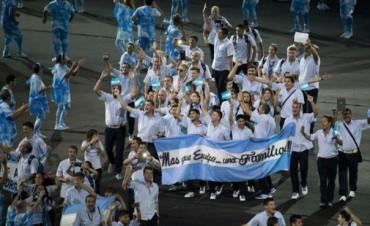 La delegación argentina hizo su presentación en los Paralímpicos
