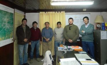 Reunión entre el Municipio con el Colegio Profesional de Maestros Mayores de Obras y Técnicos de Entre Ríos