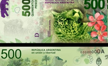 Efecto yaguareté: el billete de $ 500 alivió los cajeros y redujo las colas