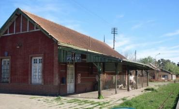 Solicitan presupuesto para refaccionar la Ex-Estación del Ferrocarril