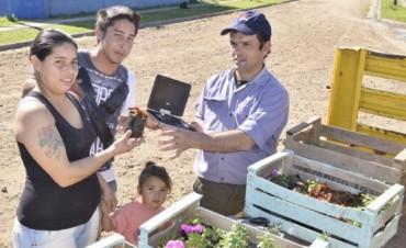 Vecinos del Barrio Campo de Mayo se sumaron a la campaña de recolección de residuos electrónicos