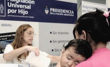 Más de 1.400.000 niños se sumaron al cobro de asignaciones familiares