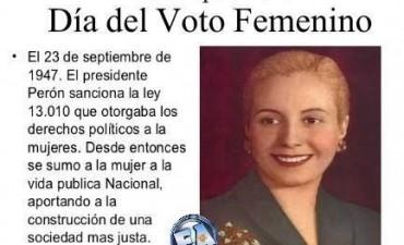 23 de septiembre : Día del Voto Femenino