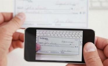 ¿Cómo será el mecanismo para depositar cheques desde el celular?