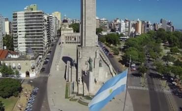 Dieron detalles de la remodelación del Monumento Nacional a la Bandera