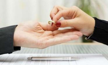 Pese a facilitarse los trámites, el número de divorcios se mantiene