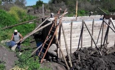 Final de construcción 2 etapa de alcantarilla sobre el Arroyo Barzola