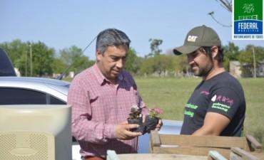 Finalizo la campaña de recolección de residuos eléctricos y electrónicos  en Barrio 25 de Mayo