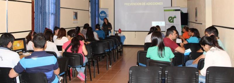 Promueven la formación de preventores en adicciones con anclaje local y comunitario en Sauce de Luna
