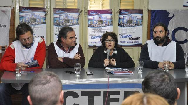 Ctera: la Celeste Violeta se impone con el 81% de los votos