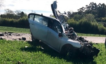 Eran entrerrianos los fallecidos en un impresionante choque en Uruguay