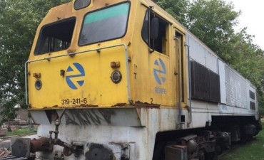 Salen a remate por internet 65.000 toneladas de chatarra ferroviaria