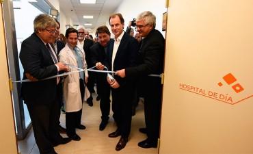 Inauguraron el hospital de día oncológico en el Centro de Medicina Nuclear