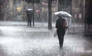 Alerta para la provincia: llega la tormenta y baja la temperatura