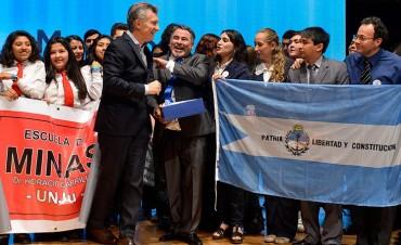Macri entregó los premios Maestros Argentinos 2017