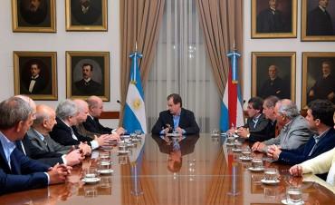 El gobernador Bordet se reunió con industriales entrerrianos