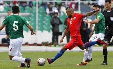 Eliminatorias. Bolivia le ganó a Chile y el resultado favoreció a la Argentina